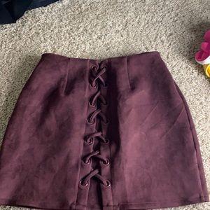 Large skirt